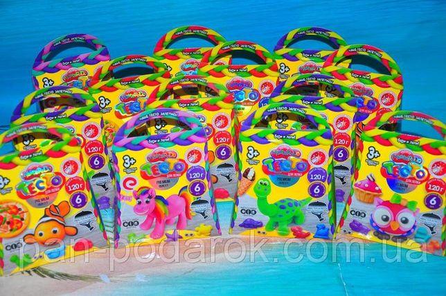 ОПТ/Розн Подарочная сумочка набор Тесто для лепки, Подарки в садик