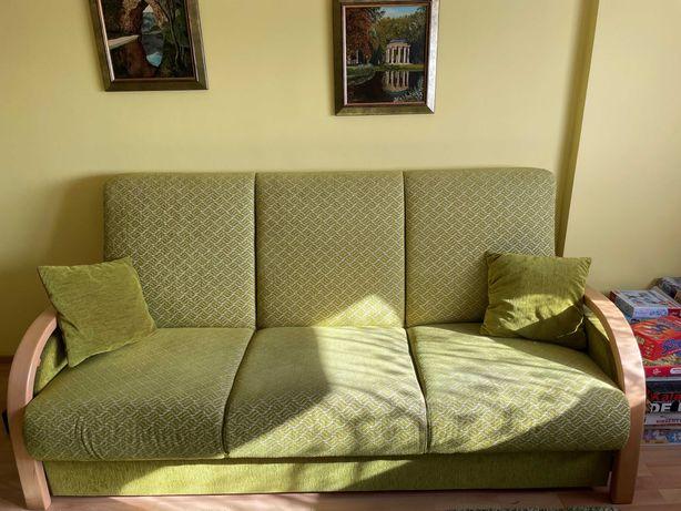 Zestaw mebli sofa trzyosobowa + 2 fotele