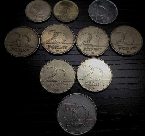 Монеты Венгрия Евросоюз Польша Россия Україна. Нумизматика.