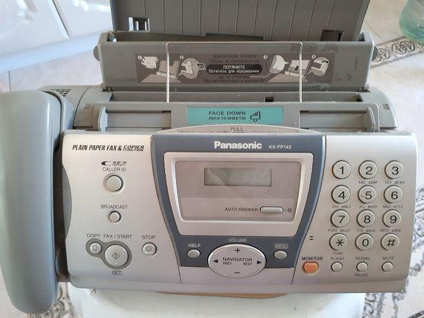 Факс Panasonic KX-FP143