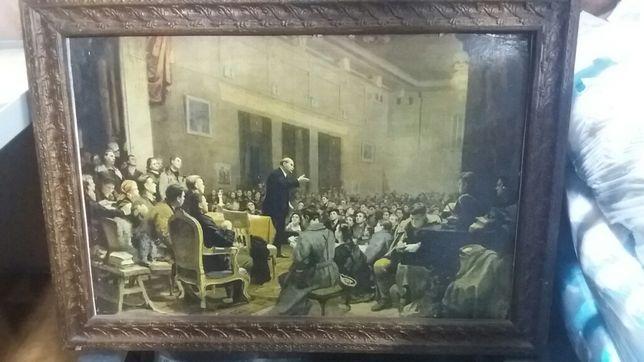 Репродукция картины Ленина