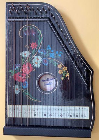 Instrumento musical - Cítara vintage