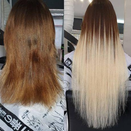 Наращивание волос 900грн., Снятие волос