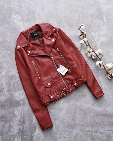 Куртка Zara, косуха, кожанка, кожанная