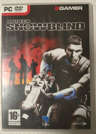 Project: Snowblind Jogo PC DVD