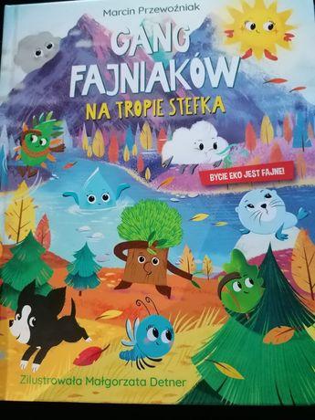 Gang fajniakow książka Na tropie Stefka