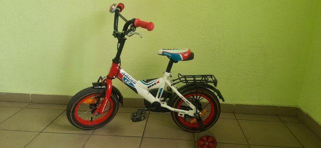 """Велосипед детский Ardis с колесами 12"""" и подставными колесами."""