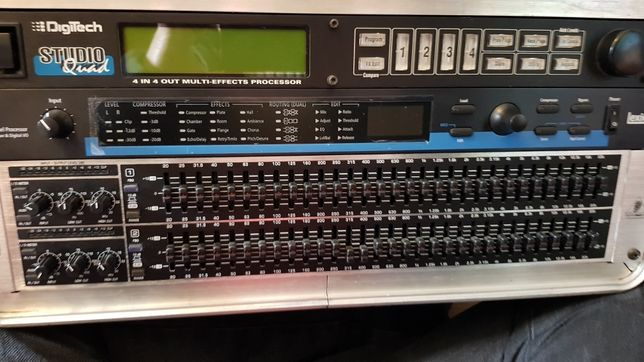 Rack processador de sinal