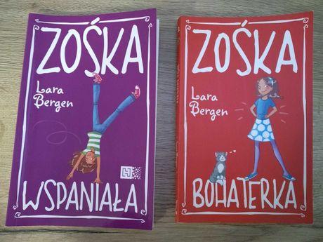 Zośka tom 1 i 2 Lara Bergen Zośka Bohaterka oraz Zośka Wspaniała Bdb