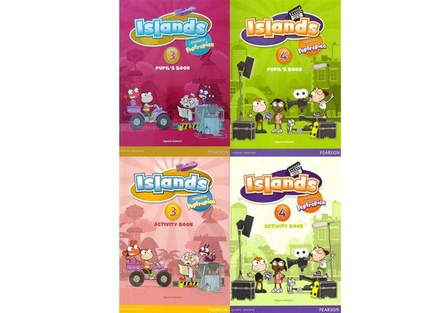 Islands 3, 4 комплект: Pupil's Book + Activity Book + CD