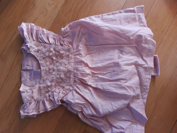 Piękna sukienka marks & spencer 9-12msc
