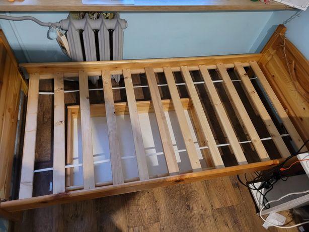 Łóżko drewniane + szuflada
