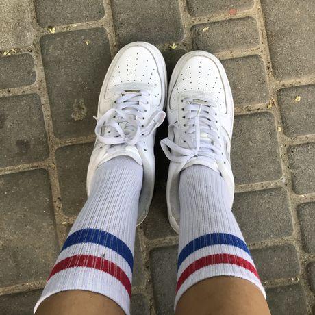 Найк nike кроссовки белые женские мужские 26 26.5 см