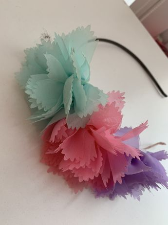 Обруч цветной головной убор заколка цветы ободок корона