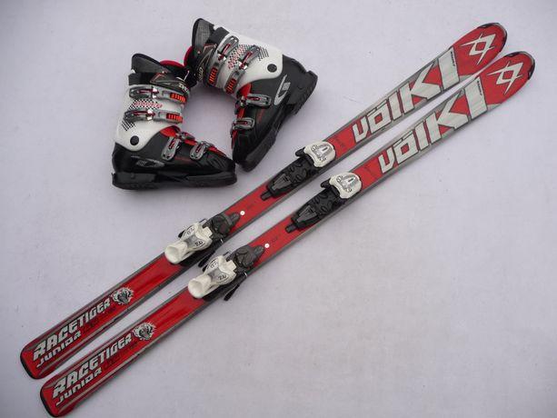 Komplet narciarski - narty Volkl Racetiger 150 cm + buty 41 eu