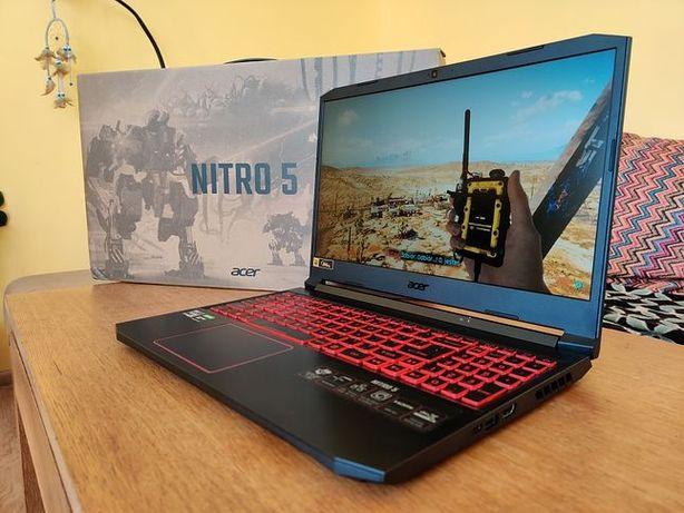Gwarancja RTX 2060 6gb 16gb ram 1T SSD Acer Nitro 5 laptop gamingowy