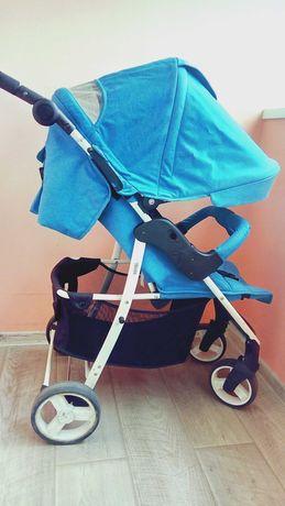 Детская коляска 4baby Rapid бирюзовый цвет