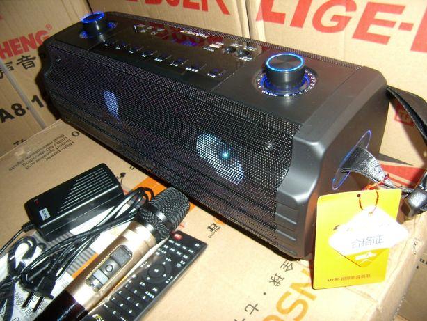 Blueooth Колонка SANSUI с МР3 micro SD,USB,FM+ микрофон+ДУ 150W