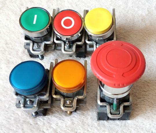 przyciski sterownicze, kontrolki, przełączniki fi 22mm - Telemecanique