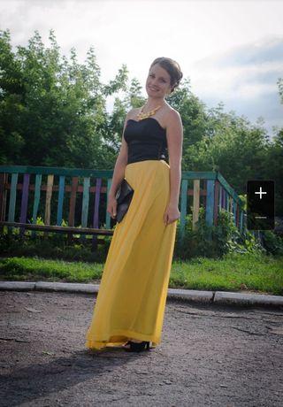 Вечернее, выпускное платье на выпускной в пол, длинное, во весь рост