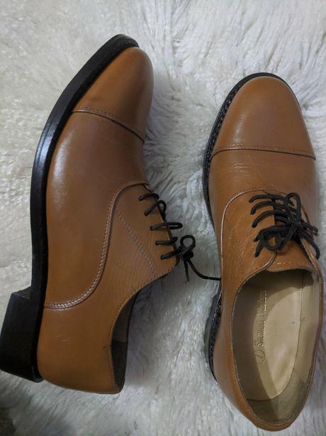 Туфли ручной работы, Samuel Windsor,42р.