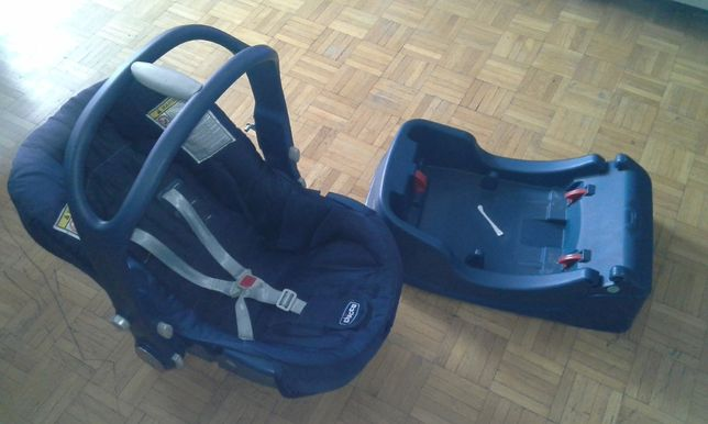 Fotelik i baza samochodowy nosidełko CHICCO 0-13kg
