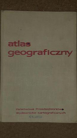 Atlas geograficzny Górski oraz czasopisma Problemy alkoholizmu