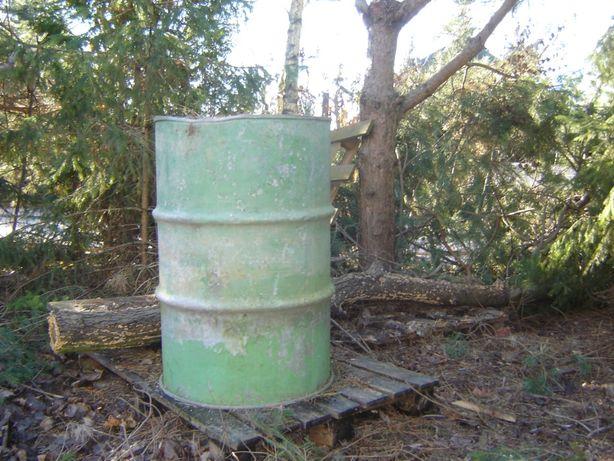 beczka stalowa 200 litrów