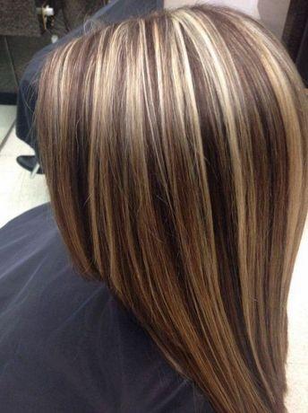 Окрашивание волос мелирование