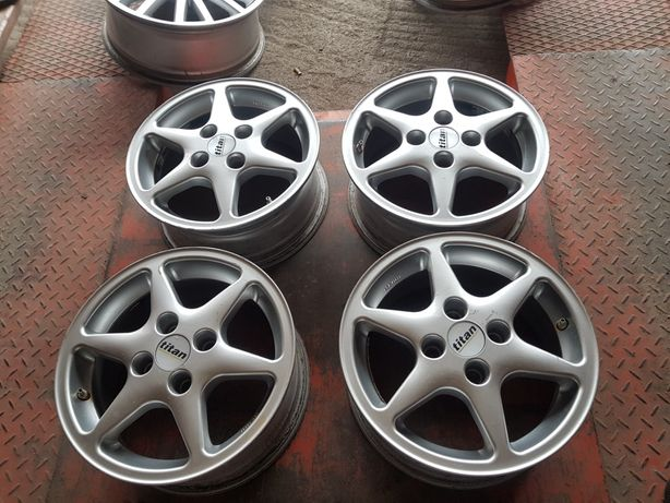 Felgi Aluminiowe Toyota Yaris R14 4x100 ET37 -6J