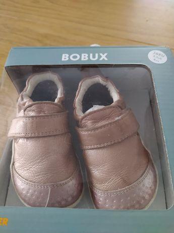 Bobux xplorer go rose gold pierwsze buty do nauki chodzenia