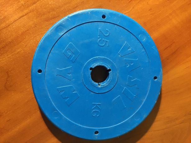 Блины (диски) для гантели Vasil 2,5кг