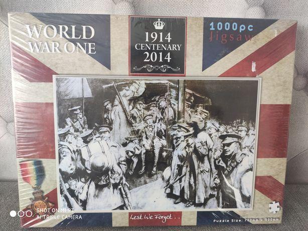 Puzzle world war one 1000 szt