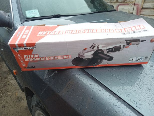 Болгарка Кутова шліфувальна машина Forte EG16-180