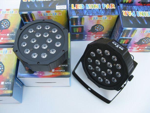 LED PAR 18x3W Светодиодные прожекторы. DMX