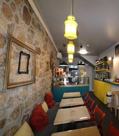 TRESPASSE_BAIXA DE PREÇO_Restaurante Italiano, Café, Esplanada, Sé