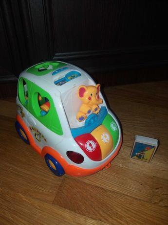 Іграшка-сортер на батарейках