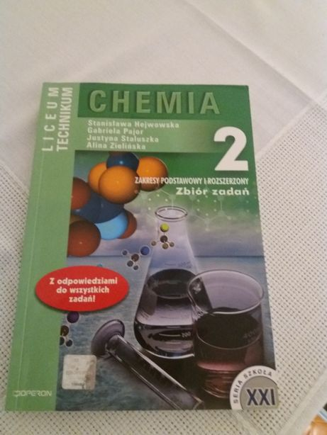 Chemia 2 Zbiór zadań Zakresy podst i roz Zielińska Hejwowska Pajor