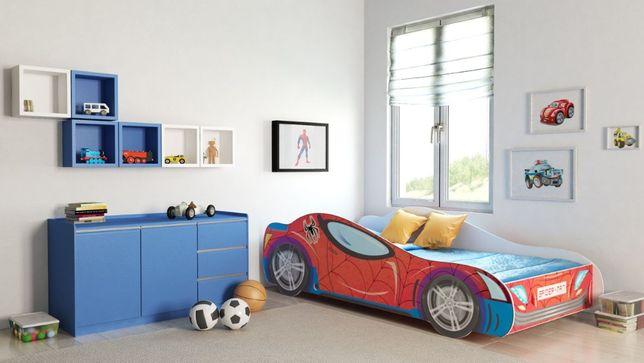 Łóżko dziecięce AUTO samochód CAR 160x80 z Materacem Dostawa Gratis!