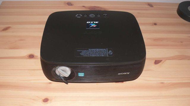 Projektor Sony VPL-ES3 + Ekran + Uchwyt + Kabel