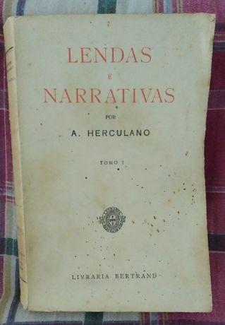 Lendas E Narrativas - LIVRO de Alexandre Herculano (antigo)