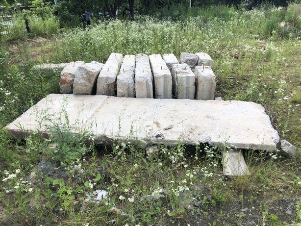Блоки фундаментні б/ в , плита перекриття