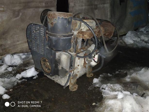 Двигатель з насосом до крана Hiab