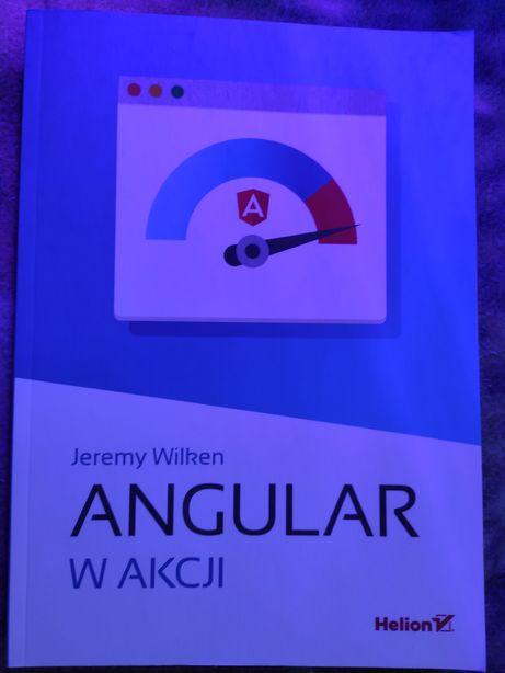Sprzedam książkę Angular w akcji