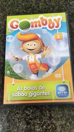 DVD - Gomby- As bolas de sabão gigantes (3)