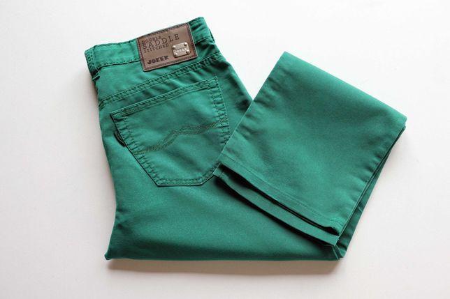 Spodnie męskie JOKER W32 L30, jeansy zielone. Stan idealny