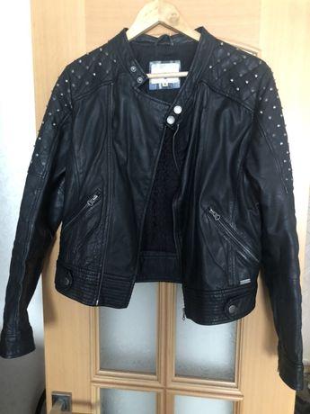 Куртка  косуха кожаная Pepe Jeans