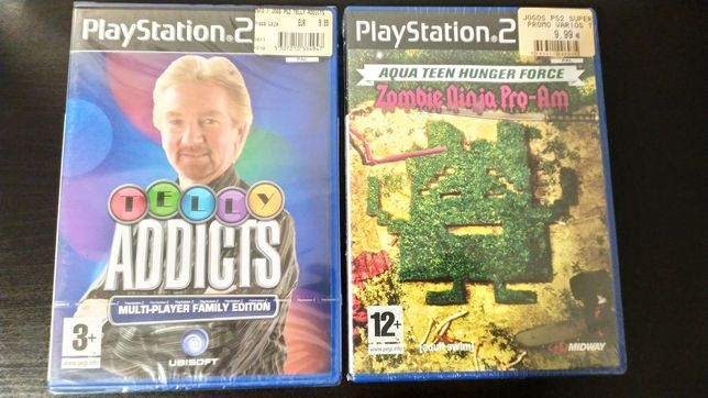 Jogos Novos/Selados - PlayStation 2 - PS2