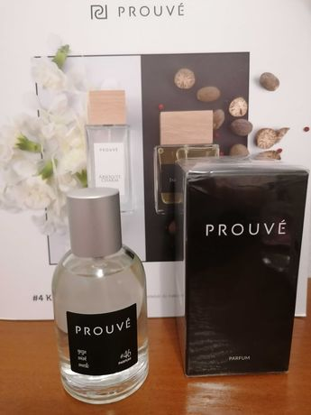 Perfumy męskie z francuskimi olejkami marki PROUVE 50ml - Nowe