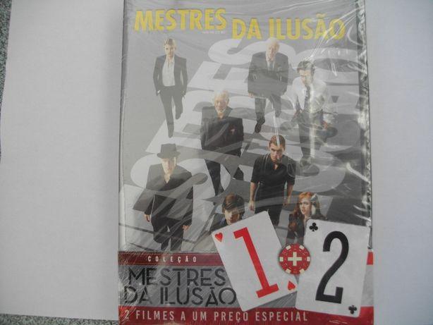 Pack DVD: Mestres da ilusão 1 e 2 (selado)